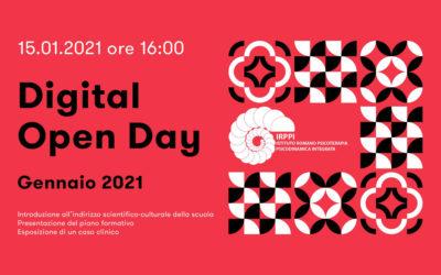 Digital Open Day Gennaio | 15 Gen 2021