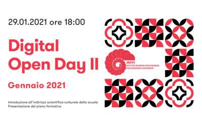 Secondo Digital Open Day Gennaio | 29 Gen 2021
